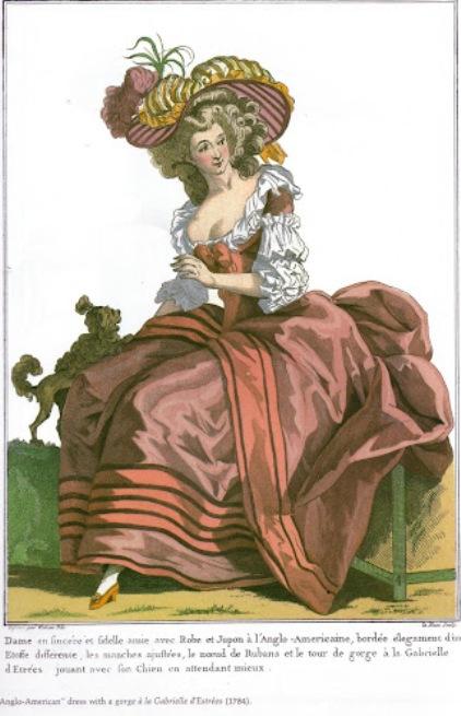 Платье эпохи рококо