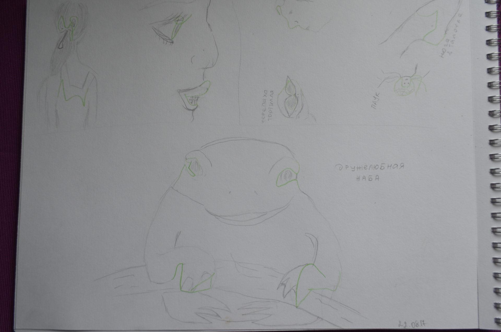 Дружелюбная жаба